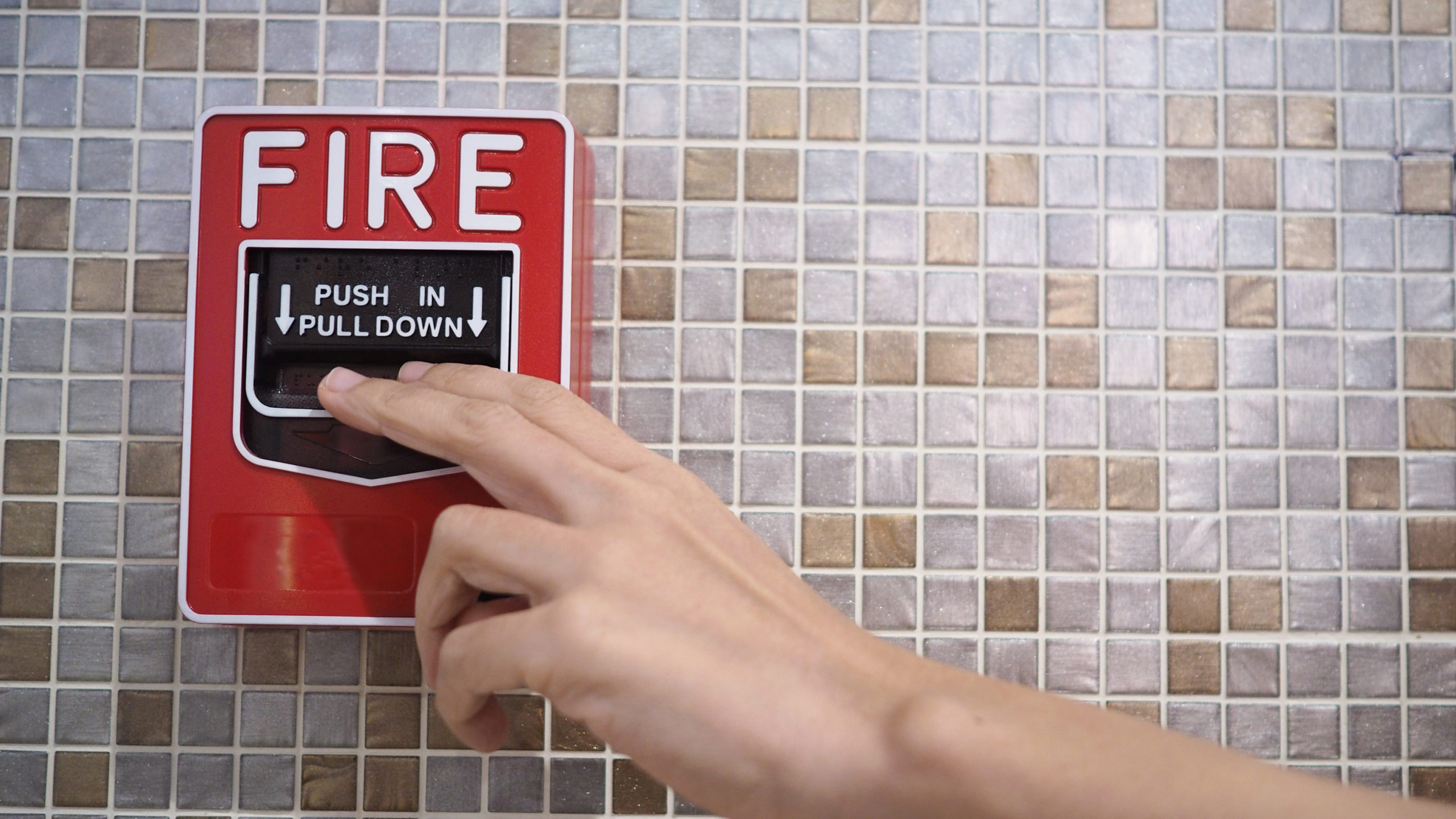 fire alarm business security system