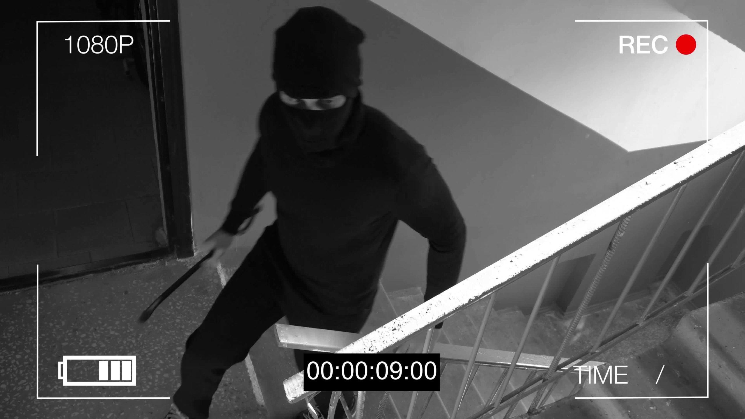 burglar alarm monitoring system