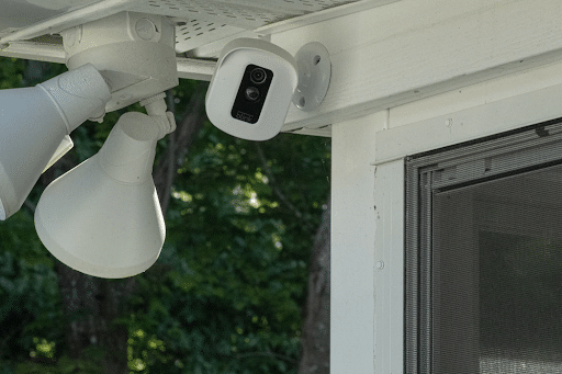 A home WiFi security camera